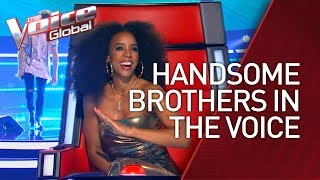 Video Brothers COMPETE with each other on The Voice | STORIES #33 MP3, 3GP, MP4, WEBM, AVI, FLV Maret 2019