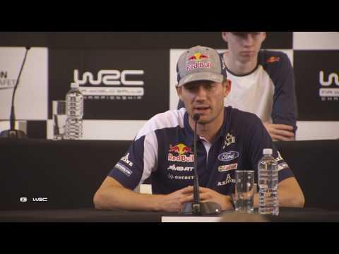 WRC - Kennards Hire Rally Australia 2017: Pre-Event Press Conference