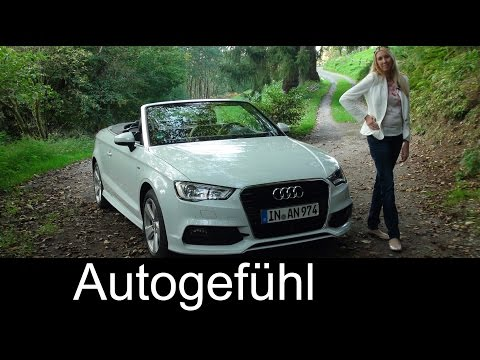 2015 Audi A3 Cabriolet test drive review – does TDI work for convertible? Autogefühl