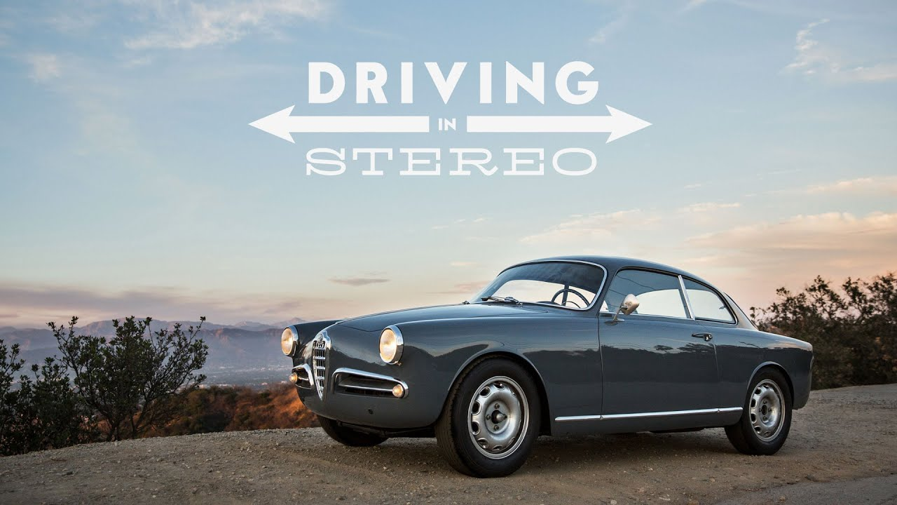 this alfa romeo giulietta sprint is driving in stereo petrolicious. Black Bedroom Furniture Sets. Home Design Ideas