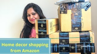 Video Amazon Home decor Shopping Haul||Amazon product Unboxing and review||Amazon haul unboxing MP3, 3GP, MP4, WEBM, AVI, FLV Mei 2019