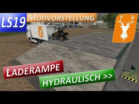 Hydraulic loading ramp v1.0