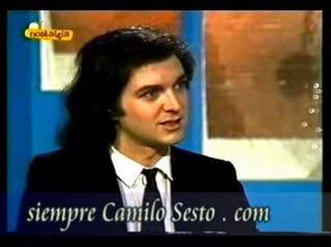 Camilo Sesto Retrato en vivo 2/10