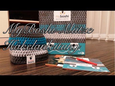MyBoshi Mütze Häkelanleitung für Anfänger