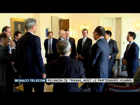 Monaco Telecom: A working meeting with Huawei as a partner