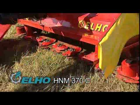HNM - http://www.elho.fi The HNM 370C has it all... · Hydro Balance System · 3.7m cutting width · 9 x Cutting discs · Cutting advantages, well known from the ELHO ...