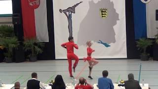 Laura Zellhuber & Patrick Jobst - LM Baden-Württemberg & Hessen 2015