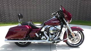 8. 625044   2015 Harley Davidson Street Glide   FLHX Used motorcycles for sale