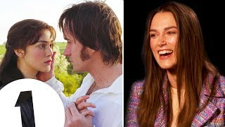 """Video """"I was so obsessed!"""" Keira Knightley on loving Pride & Prejudice and partying through Atonement MP3, 3GP, MP4, WEBM, AVI, FLV Januari 2019"""