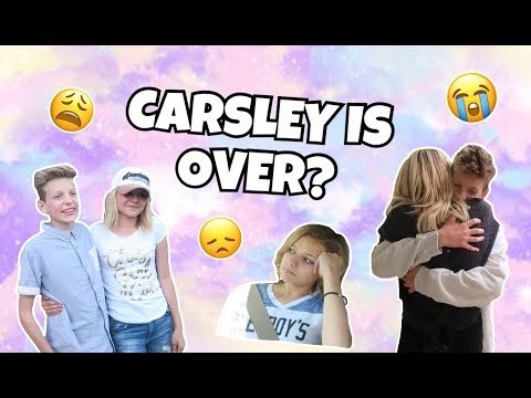 KESLEY & CARSON BREAK UP! IS CARSLEY OVER?