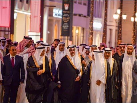 سمو ولي العهد يفتتح أفنيوز البحرين