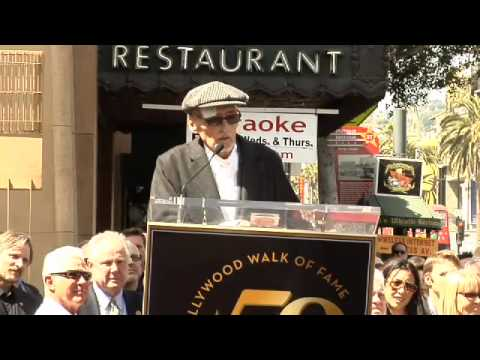 Dennis Hopper Walk of Fame Ceremony