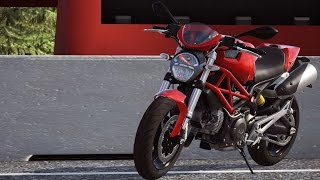 6. Ducati Monster 696 2014 - DUCATI - 90th Anniversary - Test Ride Gameplay (PC HD) [1080p60FPS]