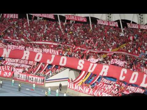 VIDEO CARNAVAL DEL BRS LA ALEGRIA DEL POPULAR  TODOS COMO HERMANOS ALENTANDO - Baron Rojo Sur - América de Cáli