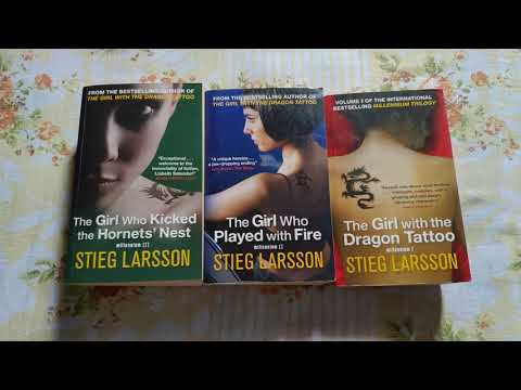 The millennium series by Stieg Larsson: one of the best