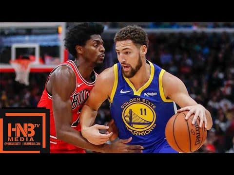 Golden State Warriors vs Chicago Bulls Full Game Highlights   10.29.2018, NBA Season