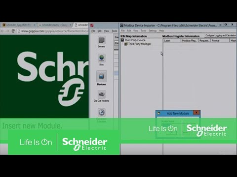 Adding 3rd Party Modbus Devices in Power Monitoring Expert | Schneider Electric Support