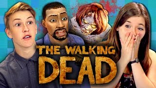 THE WALKING DEAD: Episode 1 - Part 1 (Teens React: Gaming)