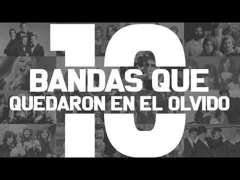 10 GRANDES BANDAS QUE QUEDARON EN EL OLVIDO
