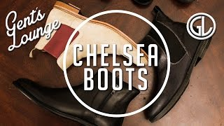 Video How-to Style Chelsea Boots || Men's Fashion || Gent's Lounge MP3, 3GP, MP4, WEBM, AVI, FLV Desember 2018