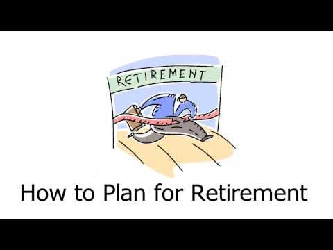 How to plan for retirement and ensure there is enough money in your retirement.