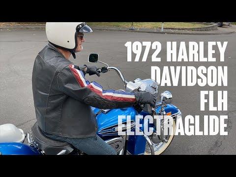 1972 Harley Davidson FLH Electraglide (in blue)! [visit 18 of 31]