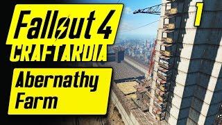 Fallout 4 Abernathy Farm Settlement #1 - Base Building Timelapse - Fallout 4 Settlement Building