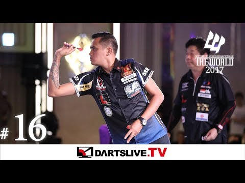 #16【Lourence Ilagan VS Paul Lim】THE WORLD 2017 -FEATURED MATCH 10-