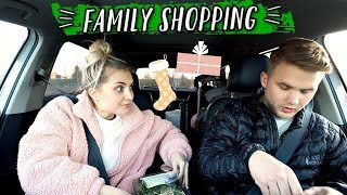 STRESSFUL HOLIDAY FAMILY SHOPPING DAY... by Aspyn + Parker