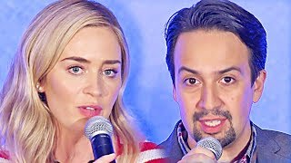 Mary Poppins Returns | full press conference (2018) by Movie Maniacs