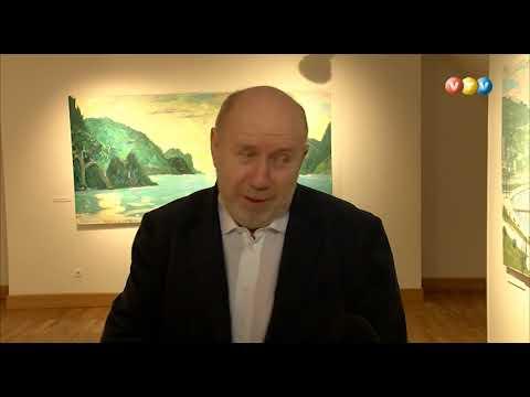 Valmierā skatāma Alekseja Naumova personālizstāde