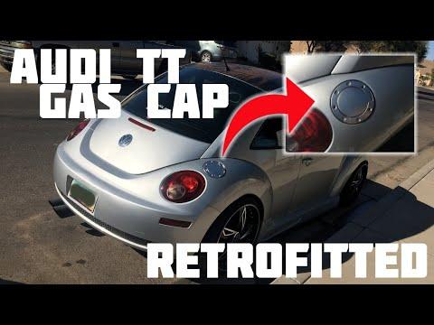 AUDI TT GAS CAP RETROFIT ON THE 2007 VW BEETLE/BUG