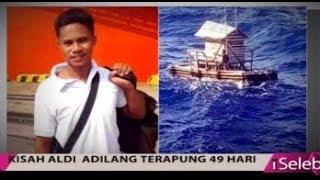 Video Detik-detik Penyelamatan Aldi Novel Adilang Setelah 49 Hari Hanyut - iSeleb 28/09 MP3, 3GP, MP4, WEBM, AVI, FLV Januari 2019