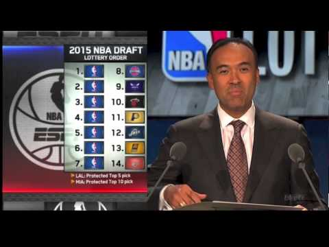 NBA Draft Lottery 2015