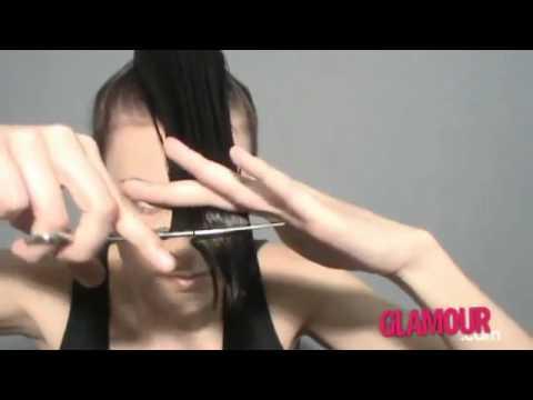Cómo cortarte las puntas tú misma. Escalar tu pelo. How to trim your hair