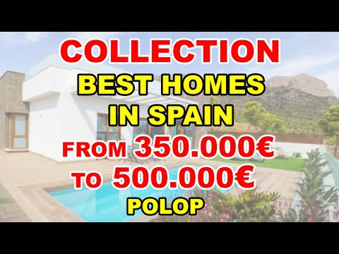 350-500000€/Houses under construction in Polop/Video BEST VILLAS in Spain/House in Benidorm