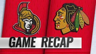 DeBrincat, Kane propel Blackhawks over Senators, 8-7 by NHL