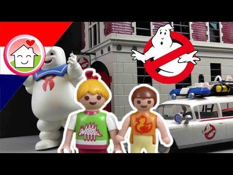Playmobil Ghostbusters filmpje Nederlands In de bioscoop - Familie Huizer