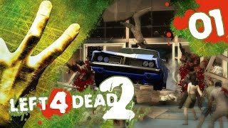 Left 4 Dead 2! Co-Op Campaign w/ PokeaimMD, Akamaru, Gator & steve Ep1 - First Try by PokeaimMD
