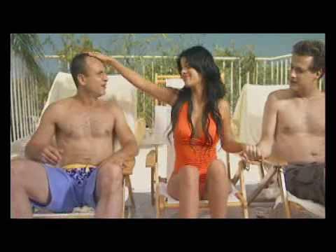 Bald guy & Bikini bitch