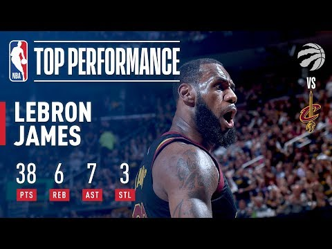LeBron James' Dominant Performance & Buzzer Beater vs Toronto