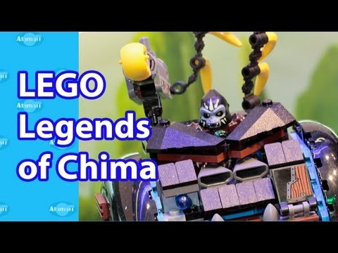 LEGO Legends of Chima Toys Nuremberg Toy Fair 2013