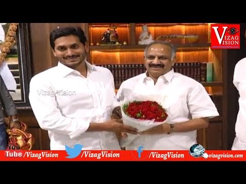 VMRDA Chairman D.Srinivas Rao Meet AP CM at Assembly in Amarvathi,Vizagvision...
