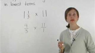 Multiplying Mixed Numbers - MathHelp.com - Pre Algebra Help