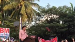Bongbong Marcos declares VP bid