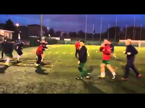 Calcio: propriocettivita/rapidita con speed-ladder 2