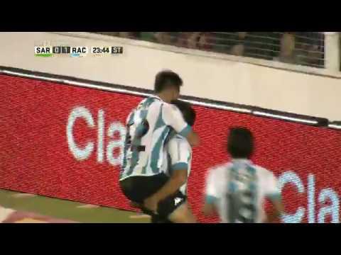 2 a 0 de Lautaro Martinez a Sarmiento
