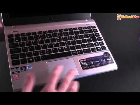 Asus EEE PC Flare 1225B unboxing and preview