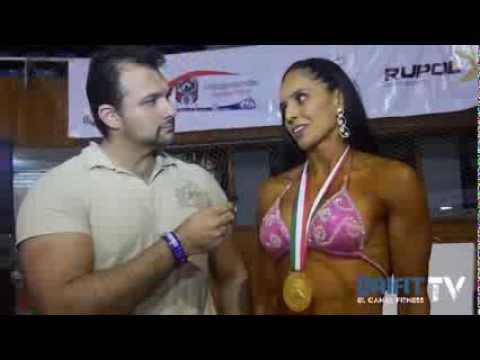 Nury Perez gana figura clasificadas más de 1.54 mts - Mr. México 2013