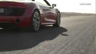 Audi R8 Facelift isi face debutul pe circuit